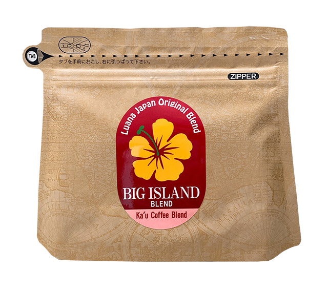 Big Island Ka'u Coffee Blend:カウコーヒーブレンド